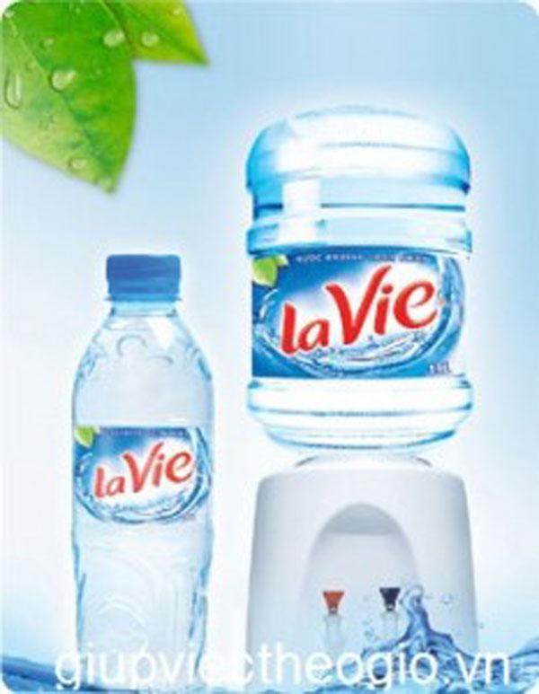 Hình ảnh vỏ bình nước: lavie chai nhựa PET