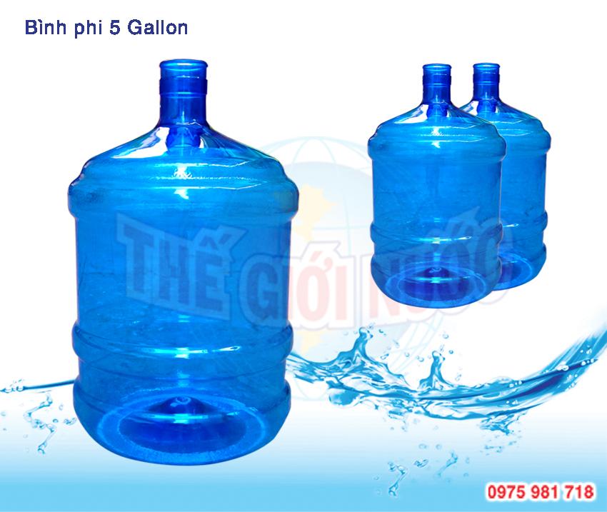 vỏ bình nước tiêu chuẩn 5 gallon